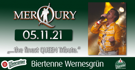 QUEEN - performed by MerQury Biertenne Wernesgrün