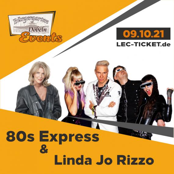 80s Express & The Flirts // Bürgergarten Döbeln // 09.10.2021