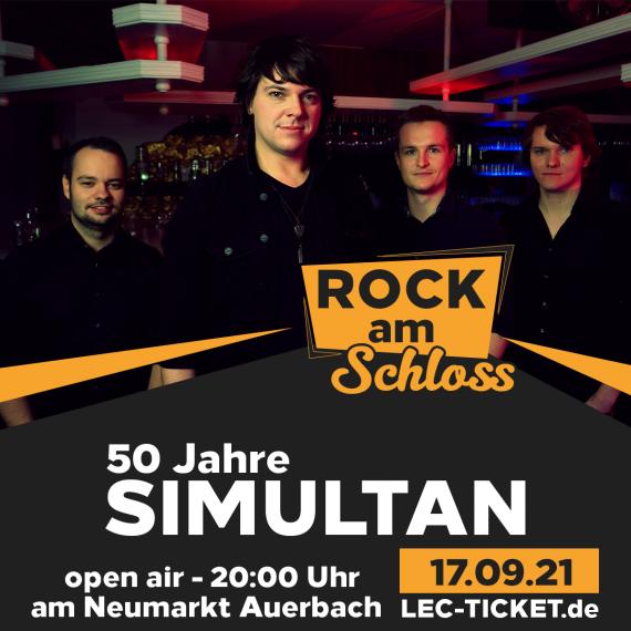 Rock am Schloss, Simultan am Neumarkt Auerbach