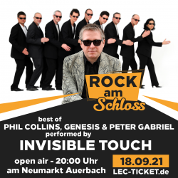 best of PHIL COLLINS, GENESIS und PETER GABRIEL - performed by Invisible Touch