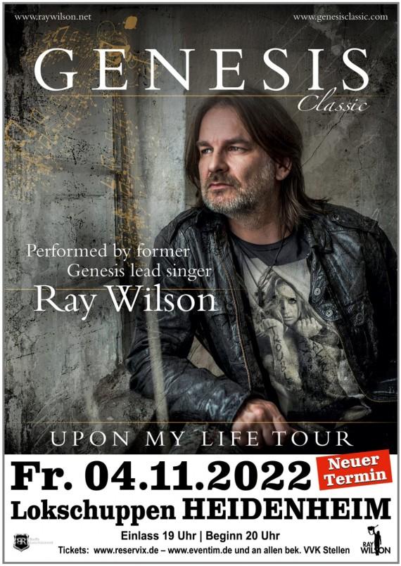 Ray Wilson - GENESIS Classic // Lokschuppen Heidenheim // 04.11.2022