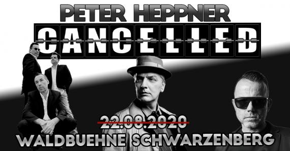 ABGESAGT // Peter Heppner mit Gastsänger Marcus Meyn & Silent Circle